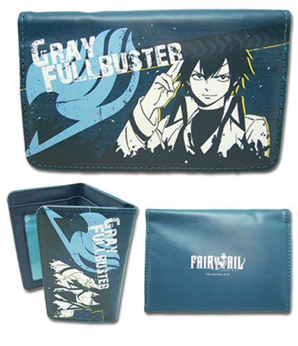 Fairy Tail - Gray Wallet, an officially licensed product in our Fairy Tail Wallet & Coin Purse department.