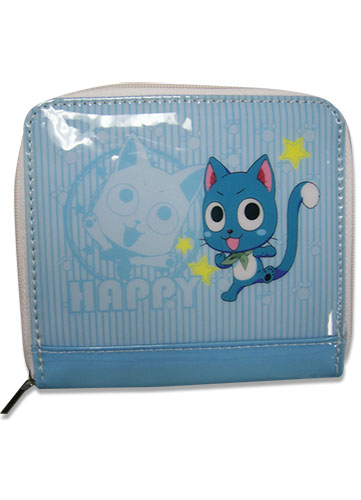 Fairy Tail - Happy Blue Wallet, an officially licensed product in our Fairy Tail Wallet & Coin Purse department.