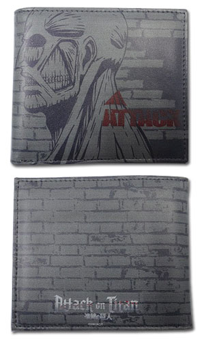 Attack On Titan - Titan's Weakiness Wallet, an officially licensed product in our Attack On Titan Wallet & Coin Purse department.