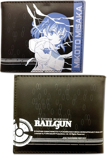 A Certain Scientific Railgun- Mikoto Wallet, an officially licensed A Certain Scientific Railgun product at B.A. Toys.