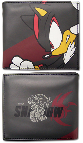 Sonic The Hedgehog - Shadow Wallet officially licensed Sonic Wallet & Coin Purse product at B.A. Toys.