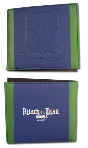 Attack On Titan - Scout Regiment Boy Wallet, an officially licensed Attack On Titan product at B.A. Toys.