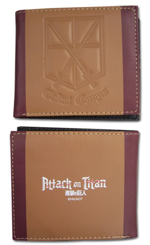 Attack On Titan - Cadet Corps Boy Wallet officially licensed Attack On Titan Wallet & Coin Purse product at B.A. Toys.