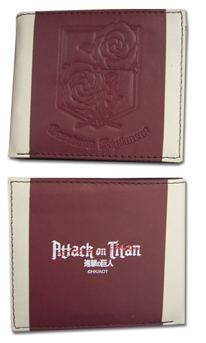 Attack On Titan - Garrison Regiment Boy Wallet, an officially licensed product in our Attack On Titan Wallet & Coin Purse department.
