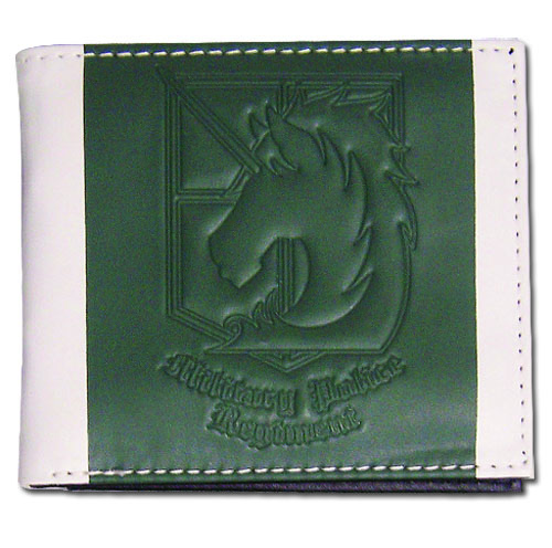 Attack On Titan - Military Police Regiment Boy Wallet, an officially licensed product in our Attack On Titan Wallet & Coin Purse department.