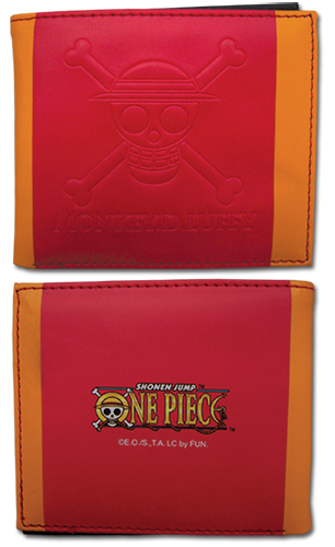 One Piece - Luffy Skull Icon Boy Wallet, an officially licensed product in our One Piece Wallet & Coin Purse department.