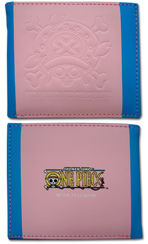One Piece - Chopper Skull Icon Boy Wallet, an officially licensed product in our One Piece Wallet & Coin Purse department.