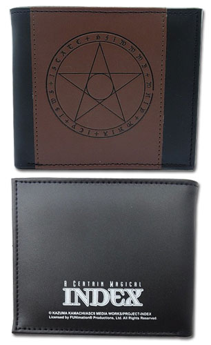 A Certain Magical Index - Magic Pu Wallet, an officially licensed product in our A Certain Magical Index Wallet & Coin Purse department.