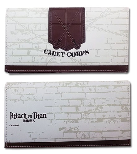 Attack On Titan - Cadet Corps Girl Wallet, an officially licensed product in our Attack On Titan Wallet & Coin Purse department.