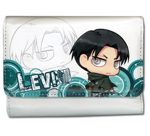 Attack On Titan - Levi Sd Girl Wallet officially licensed Attack On Titan Wallet & Coin Purse product at B.A. Toys.