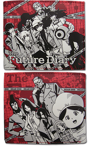 Future Diary - Diary Holders Wallet, an officially licensed product in our Future Diary Wallet & Coin Purse department.