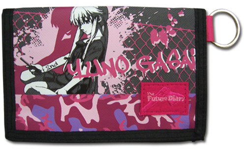 Future Diary - Yuno Pink Wallet, an officially licensed product in our Future Diary Wallet & Coin Purse department.