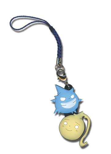Soul Eater Black Star & Tsubaki Kishin Cell Phone Charm, an officially licensed product in our Soul Eater Costumes & Accessories department.