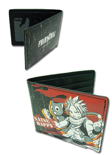 Fairy Tail - Natsu & Happy Boy Wallet, an officially licensed Fairy Tail product at B.A. Toys.