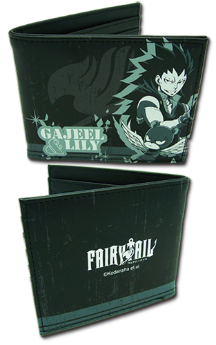 Fairy Tail - Gajeel & Lily Boy Wallet, an officially licensed product in our Fairy Tail Wallet & Coin Purse department.