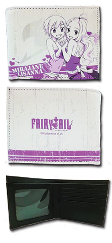 Fairy Tail - Mirajane & Lisanna Boy Wallet, an officially licensed Fairy Tail Wallet & Coin Purse