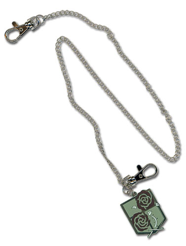Attack On Titan Garrison Regiment Emblem Wallet Chain, an officially licensed Attack On Titan product at B.A. Toys.