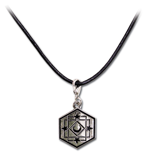 Bleach Shihouin Mark Necklace, an officially licensed Bleach product at B.A. Toys.