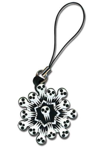 Soul Eater Shinigami Snowflake Cell Phone Charm officially licensed product at B.A. Toys.