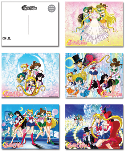 Sailormoon Postcards, an officially licensed product in our Sailor Moon Stationery department.
