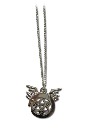Fma Brotherhood Uroboros Necklace, an officially licensed Full Metal Alchemist Necklace