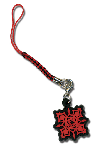 Vampire Knight Cross Pvc Cell Phone Charm officially licensed product at B.A. Toys.