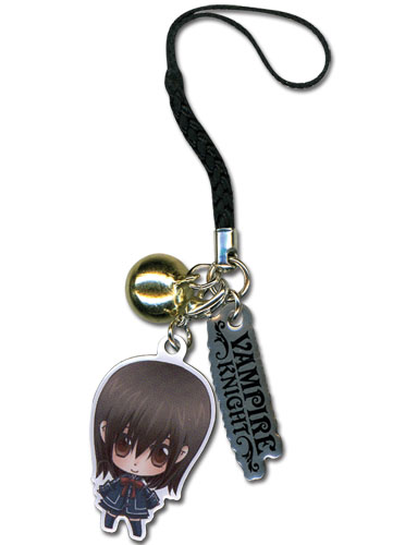 Vampire Knight Yuki Metal Cell Phone Charm officially licensed product at B.A. Toys.