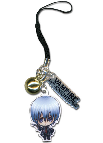 Vampire Knight Zero Metal Cell Phone Charm officially licensed product at B.A. Toys.