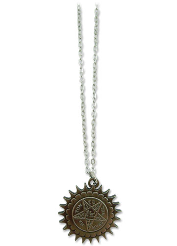 Black Butler Pentagram Metal Necklace, an officially licensed product in our Black Butler Jewelry department.
