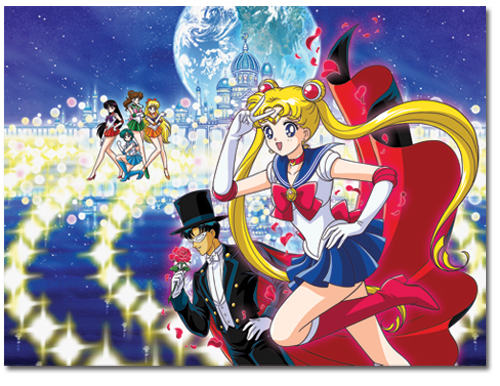 Sailormoon Group Puzzle (1000 Pcs, 29.5