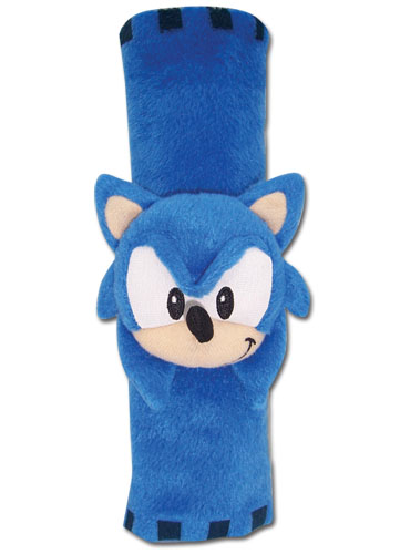 Classic Sonic Sonic Plush Seat Belt Wrap, an officially licensed Sonic Accessory