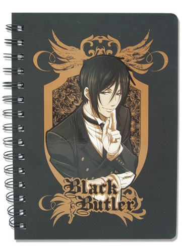 Black Butler Sebastian Notebook, an officially licensed Black Butler product at B.A. Toys.