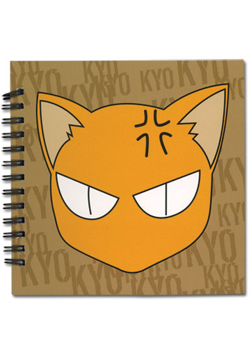 Fruits Basket Kyo Notebook, an officially licensed Fruits Basket Stationery