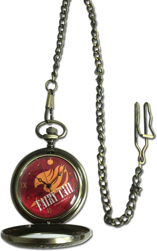 Fairy Tail - Guild Emblem Pocket Watch, an officially licensed product in our Fairy Tail Watches department.