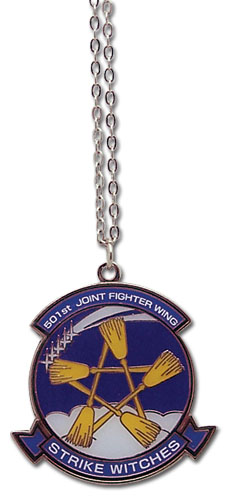 Strike Witches 501St Logo Necklace, an officially licensed product in our Strike Witches Jewelry department.