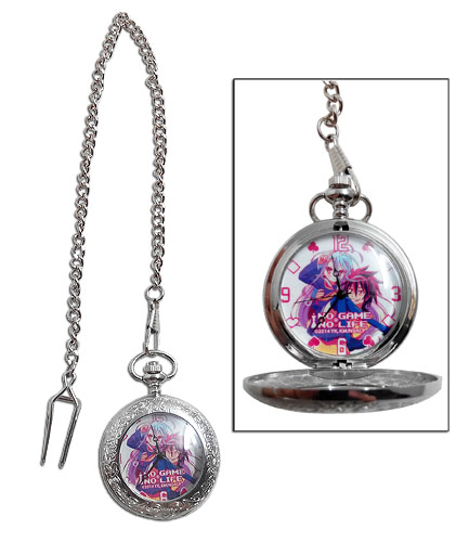 No Game No Life - Sora & Shiro Pocket Watch, an officially licensed product in our No Game No Life Watches department.