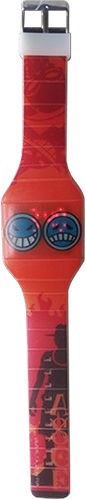 One Piece - Ace Icon Led Watch, an officially licensed product in our One Piece Watches department.