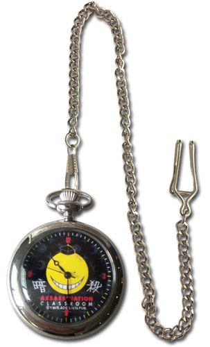 Assassination Classroom - Koro Pocket Watch, an officially licensed product in our Assassination Classroom Watches department.