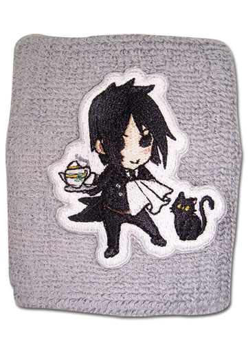 Black Butler Sd Sebastian Wristband, an officially licensed Black Butler Wristband