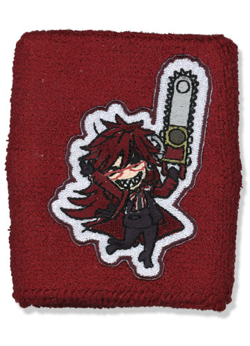 Black Butler Sd Grell Wristband, an officially licensed product in our Black Butler Wristbands department.