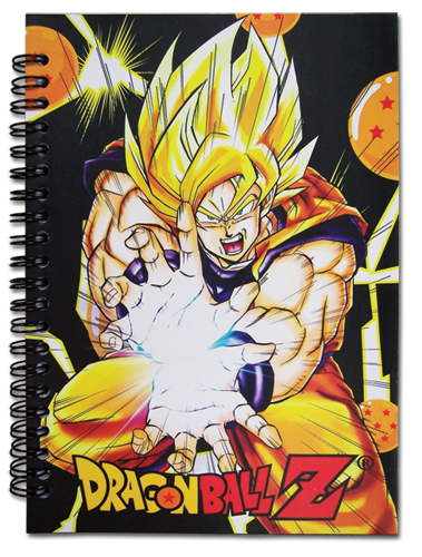 Dragon Ball Z - Dbz Notebook, an officially licensed Dragon Ball Z Stationery