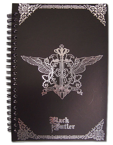 Black Butler Phantomhive Emblem Notebook, an officially licensed Black Butler Stationery
