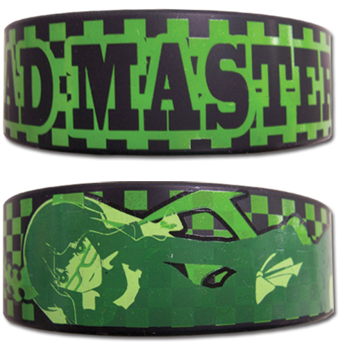 Black Rock Shooter Dead Master Pvc Wristband, an officially licensed Black Rock Shooter Wristband