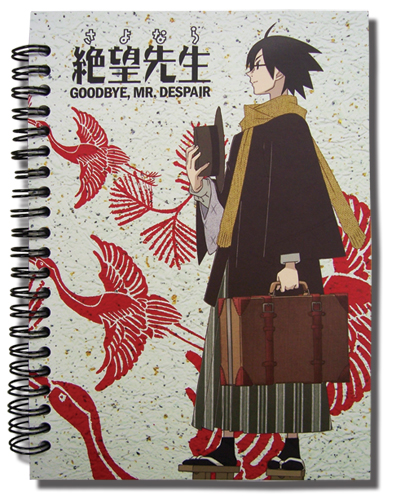 Goodbye Mr. Despair Notebook, an officially licensed product in our Everything Else Stationery department.
