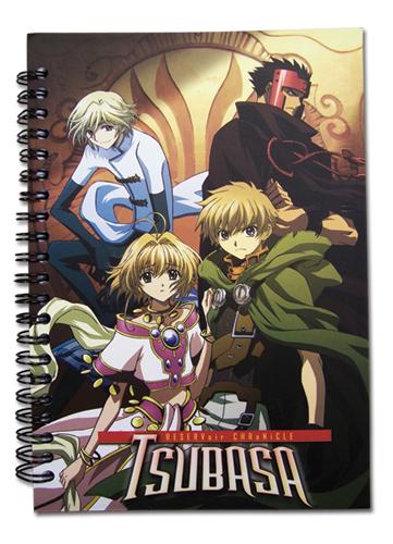 Tsubasa Group Notebook, an officially licensed Tsubasa product at B.A. Toys.