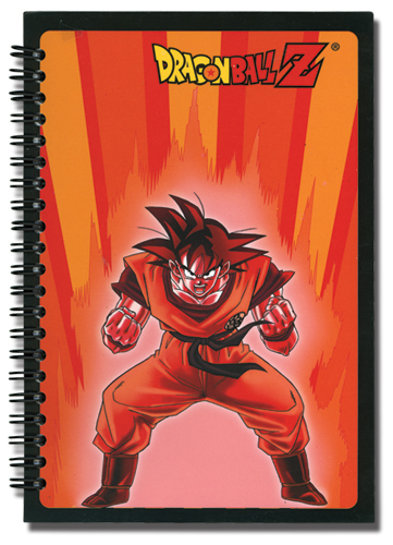 Dragon Ball Z Kaioken Goku Notebook, an officially licensed product in our Dragon Ball Z Stationery department.