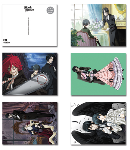 Black Butler Post Card, an officially licensed Black Butler product at B.A. Toys.