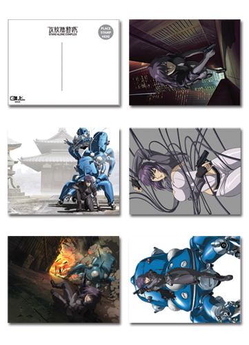 Ghost In The Shell S.A.C. Postcards, an officially licensed product in our Ghost In The Shell Stationery department.