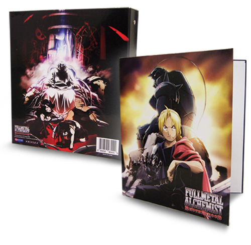 Fullmetal Alchemist Brotherhood Binder officially licensed product at B.A. Toys.