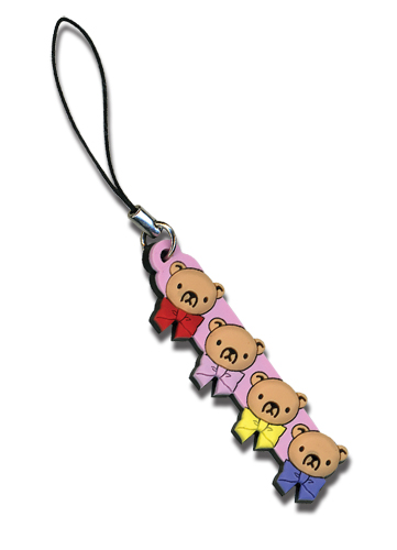Junjo Romantica Teddy Bears Cell Phone Charm, an officially licensed product in our Junjo Romantica Costumes & Accessories department.